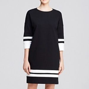 Vince Color-block Black White Dress size S